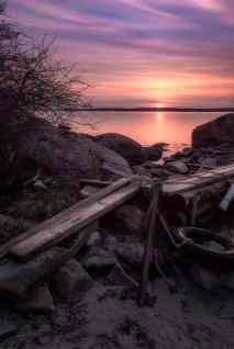 Vårens vackraste solnedgång - Ludwig Sörmlind
