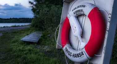 Hasslö utanför Karlskrona - Ludwig Sörmlind