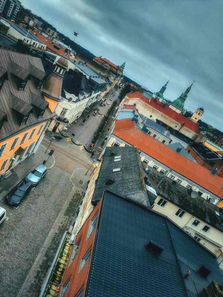 Drottninggatan från ovan - Ludwig Sörmlind