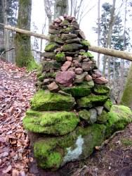 Ein Steinmännchen