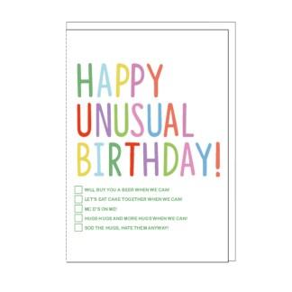 Happy Unusual Birthday Card