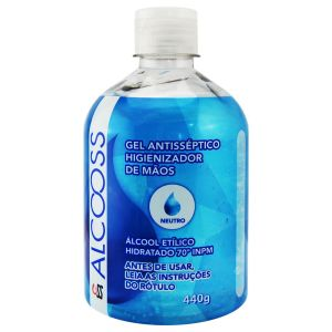 Álcool Etílico Hidratado 70º 440g – Alcooss