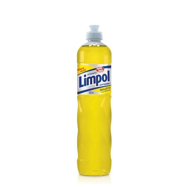 Detergente 500ml Neutro Limpol