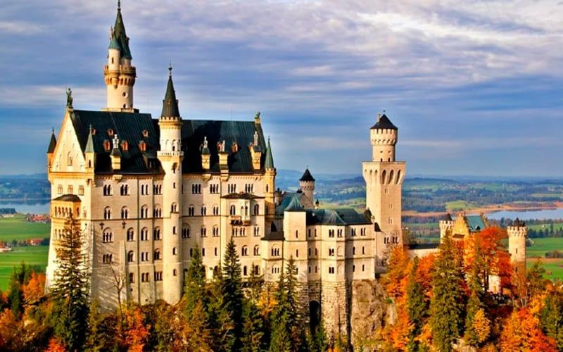 Castelo de Neuschwanstein - Outono