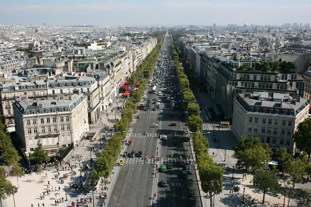 o que fazer em Paris: champs elysees
