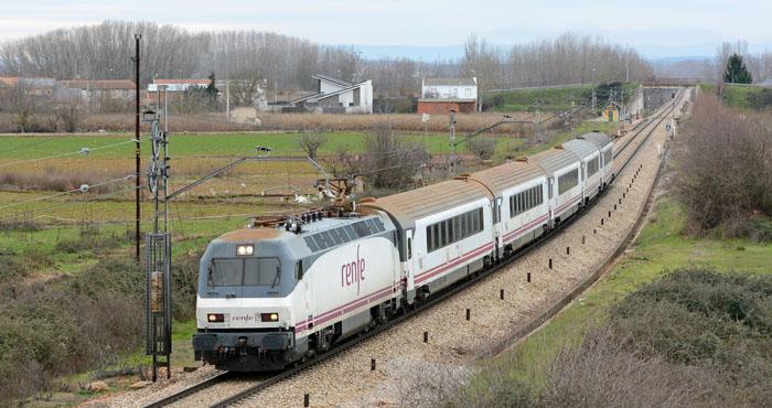 Trem na Espanha