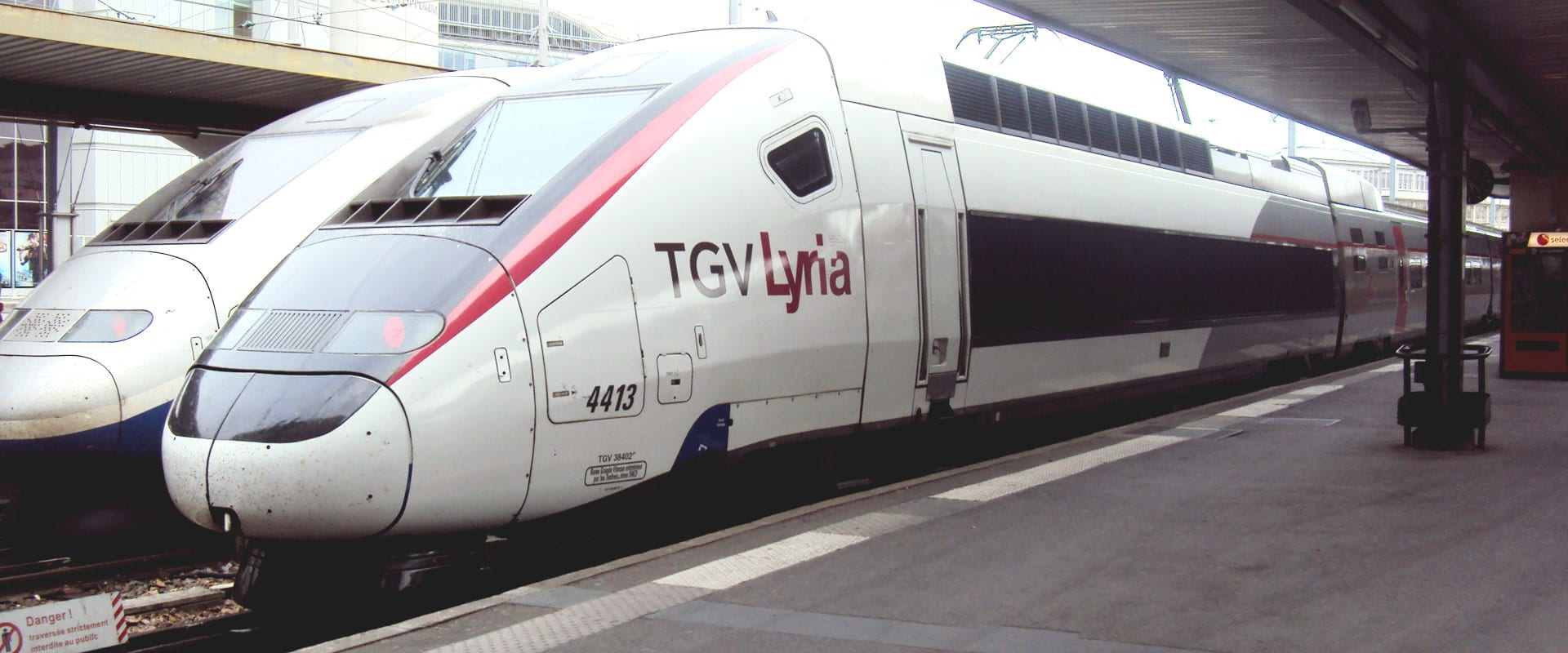 Trem de Genebra para Paris