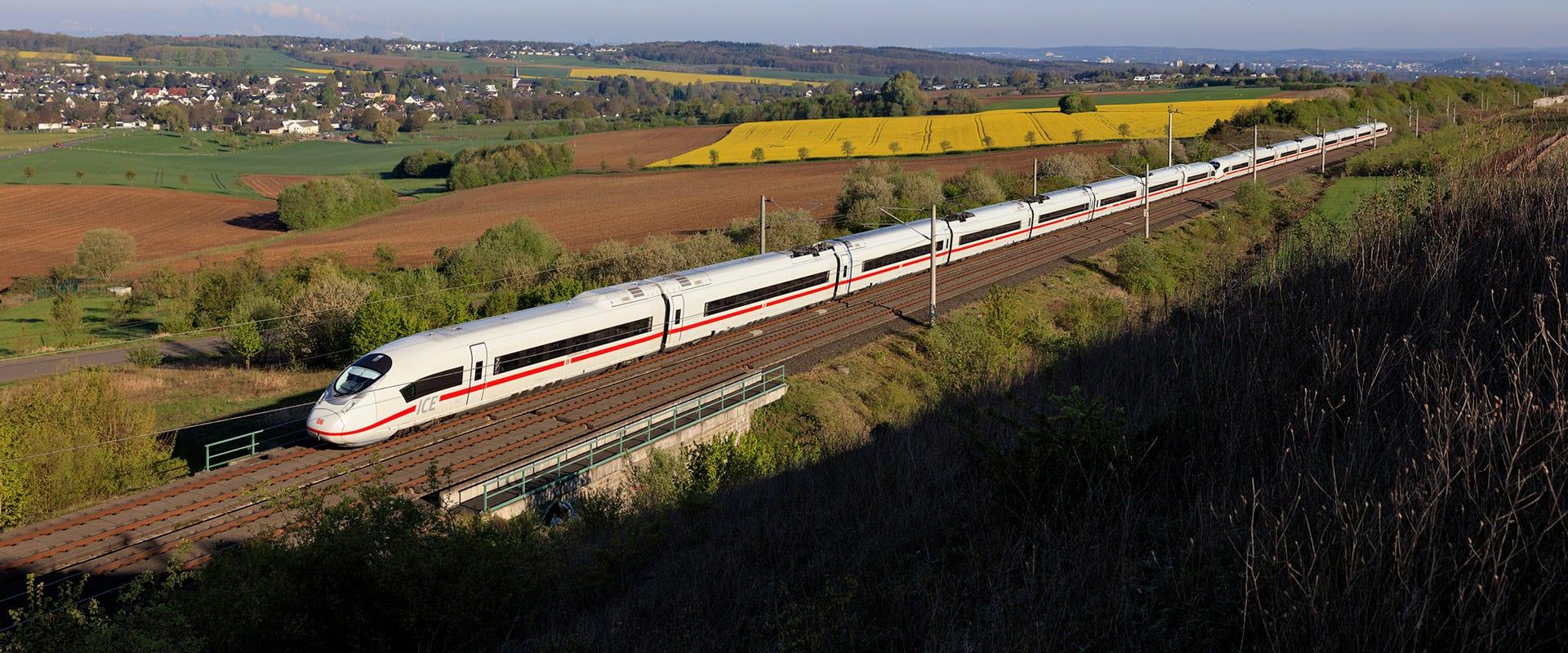 Alemanha em trem – de Frankfurt a Munique