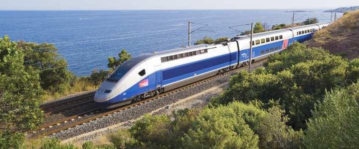 Trem de Paris para Girona