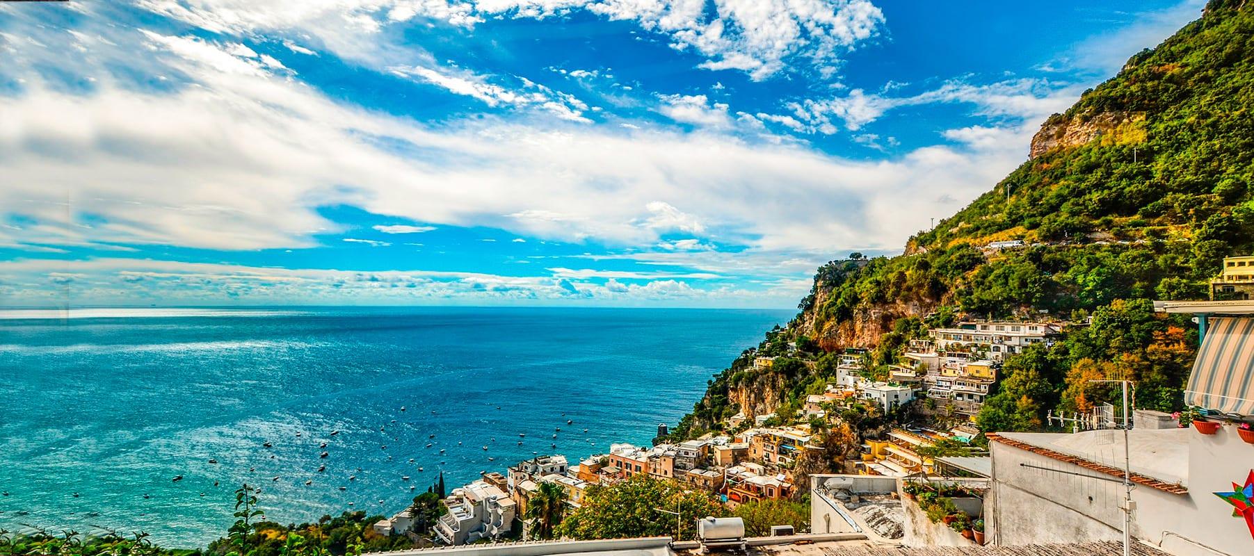Veneza a Roma com Costa Amalfitana Premium