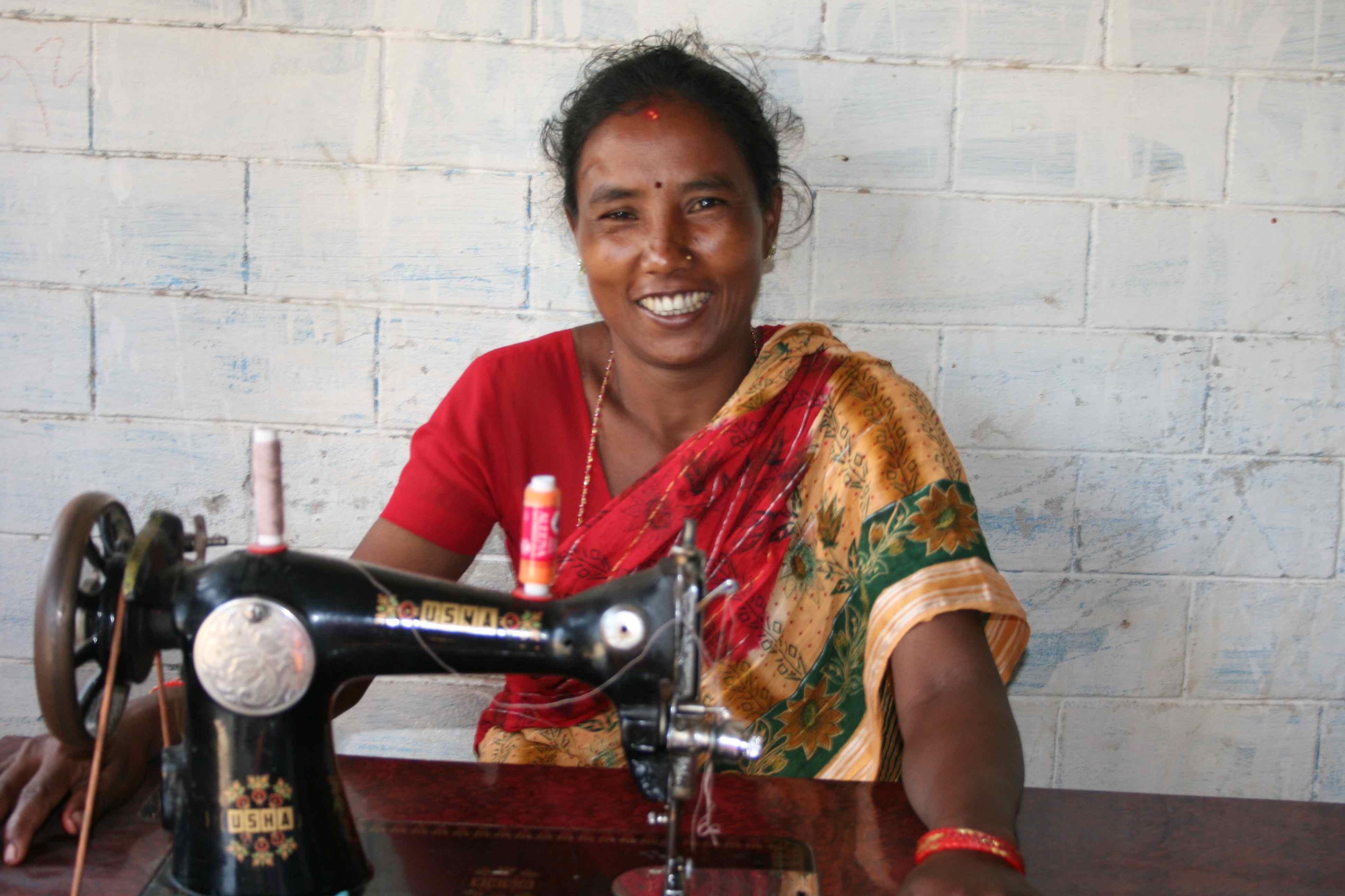 Bishnu ved Gomas maskine
