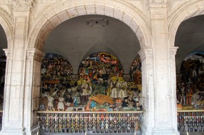 Diego Rivera's History of Mexico mural at the Palacio Nacional (Mexico City)