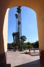 Courtyard of ex-convent in Santiago de Querétaro