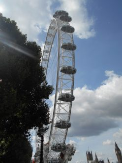 London Eye - El Ojo de Londres - Londres Agosto 2017