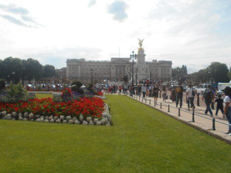 Jardin Frontal Buckingham Palace - Londres