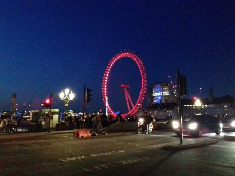 London Eye – El Ojo de Londres de Noche