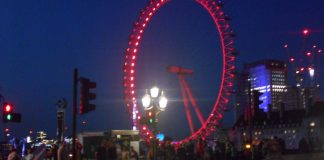 London Eye – El Ojo de Londres de Noche