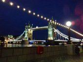 El Puente de Londrés - London Bridge de noche