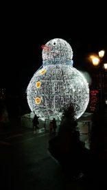 El Muñeco de Nieve de Vigpo - Alumbrado de Navidad de VIGO
