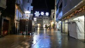 Calle Ramón González - Alumbrado Navidad Porriño 2018