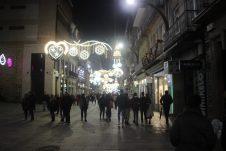 Calle Príncipe. Alumbrado Navidad Vigo 2019
