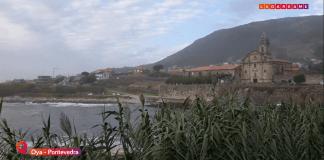 Vídeo: Vistas Monasterio de Santa María de Oya - Provincia de Pontevedra