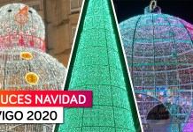 Luces de Navidad Vigo 2020 - Paseo por la Ciudad | El Alumbrado más TOP del Mundo 🔝🎄🎅