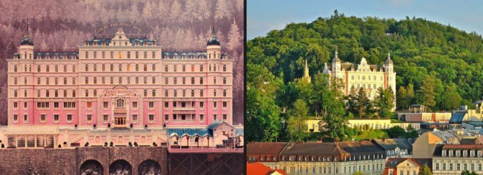 Destinos Pelicula Gran Hotel Budapest Republica Checa