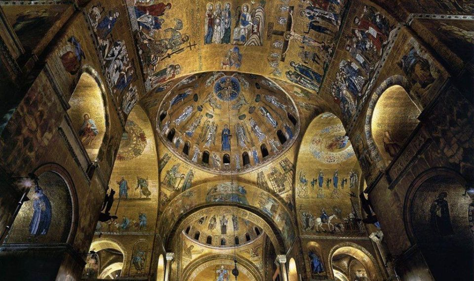 mosaicos de oro