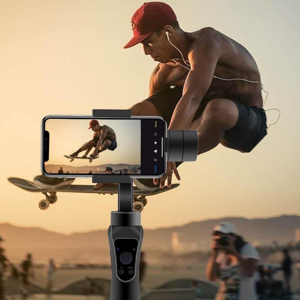 estabilizador para selfies