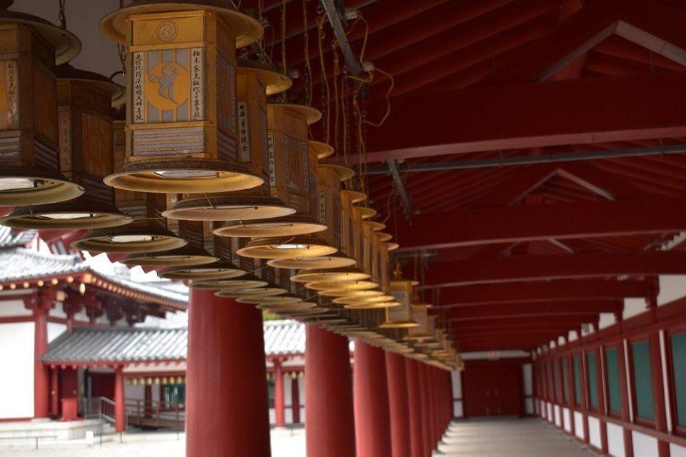 Templo Shintennoji, en Osaka