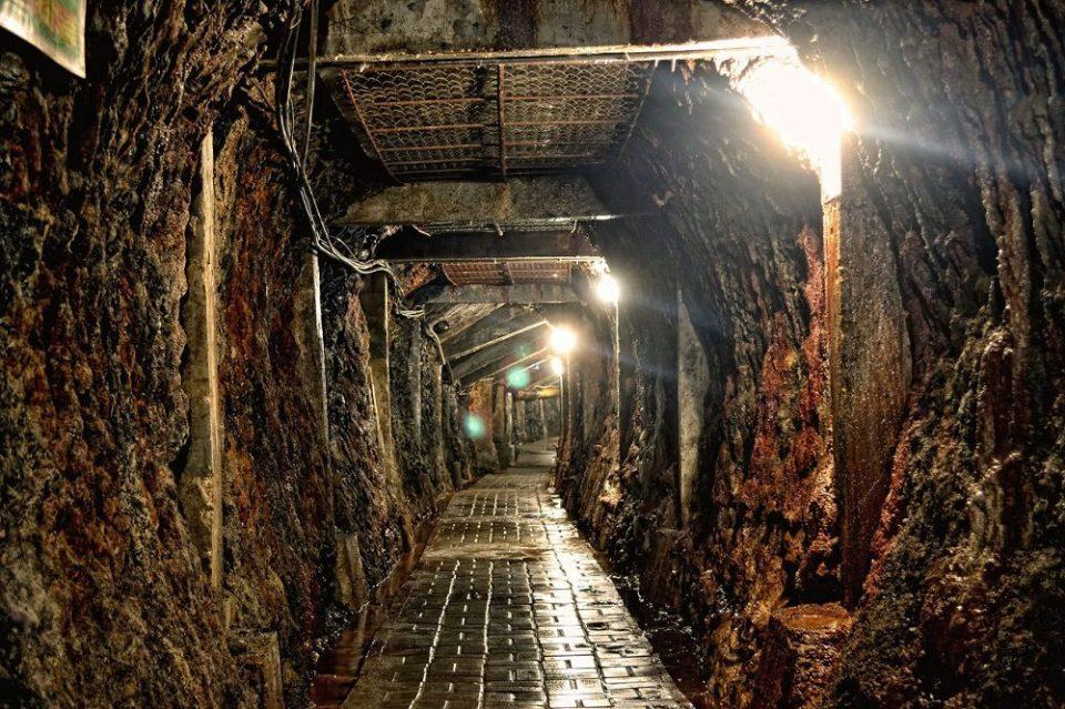 Mina de carbón de Ombilin, Indonesia