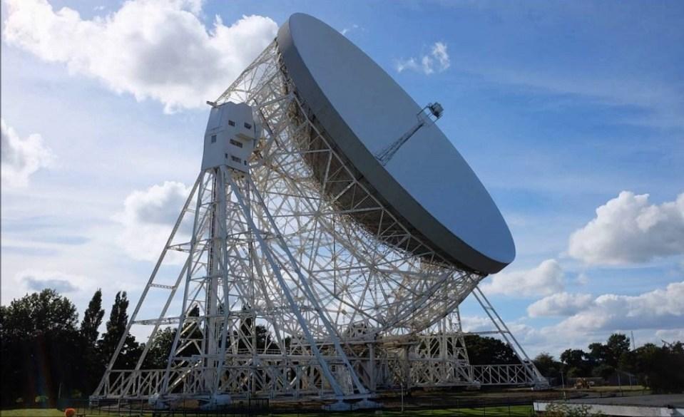 Observatorio del Banco de Jodrell, Reino Unido