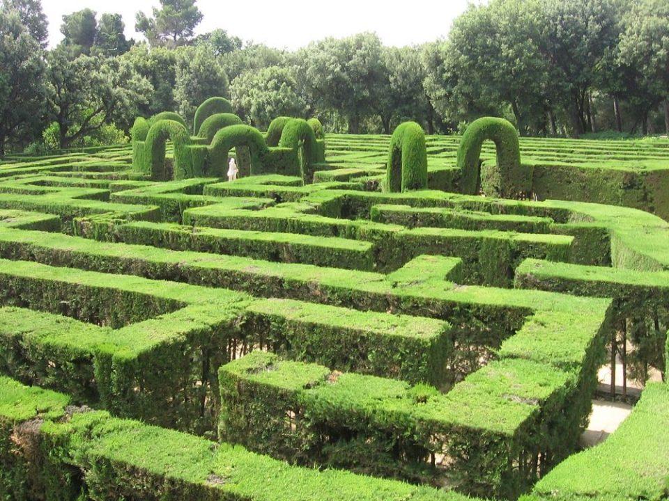 Jardines de España  - Laberinto de Horta en Barcelona