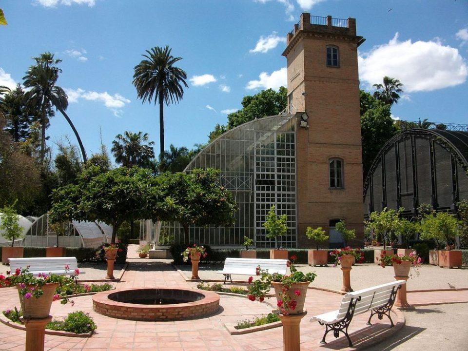 Jardines de España - Jardines de Viviros en Valencia