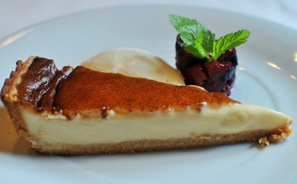 Una de las mejores tartas de queso de España
