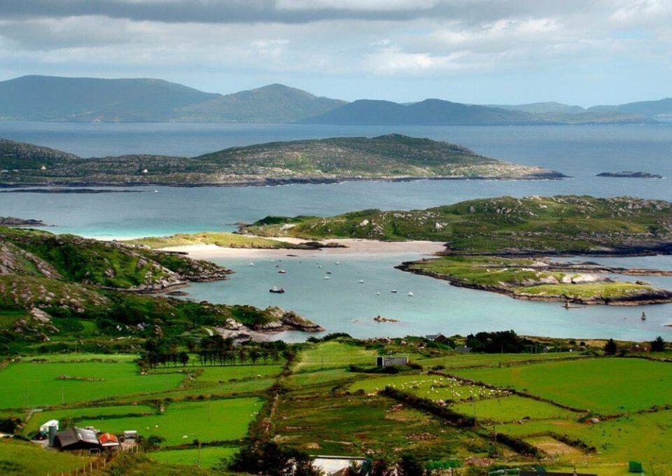 Caherdaniel, uno de los pueblos costeros más bonitos de Irlanda