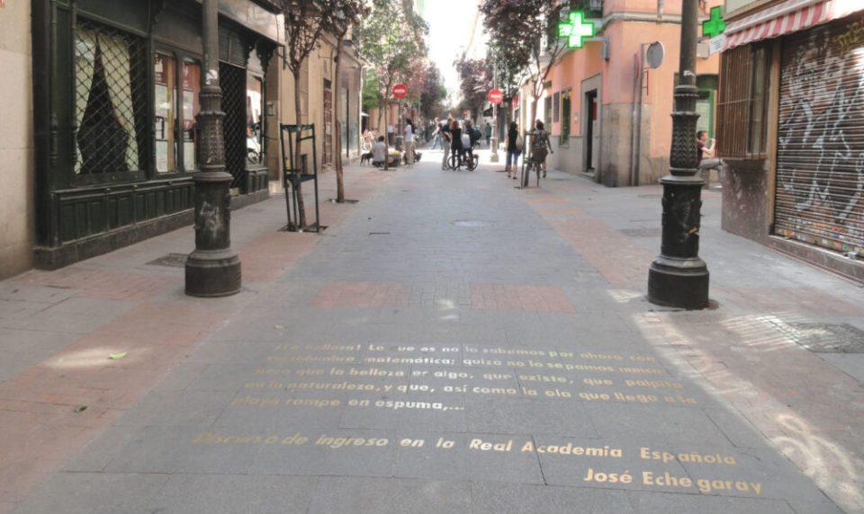 Barrio de las Letras de Madrid, en el corazón del Madrid de Los Austrias, una de las rutas literarias de España más popular