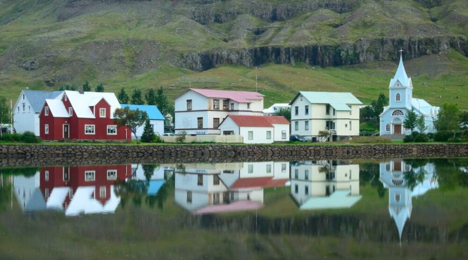 Seydisfjordur, en Islandia