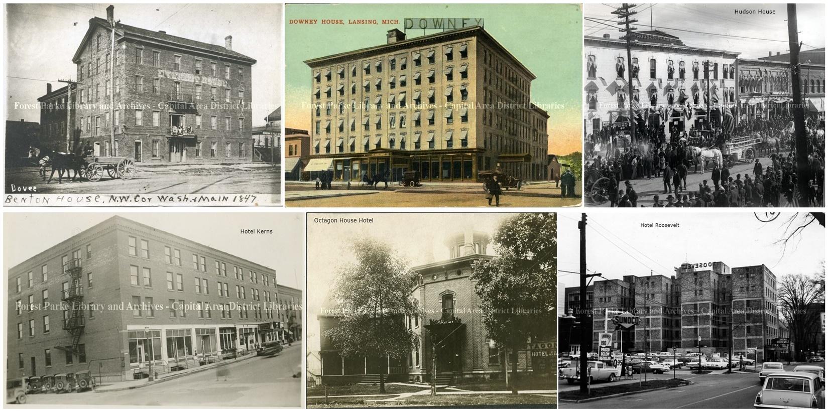 History Of Lansing Hotels