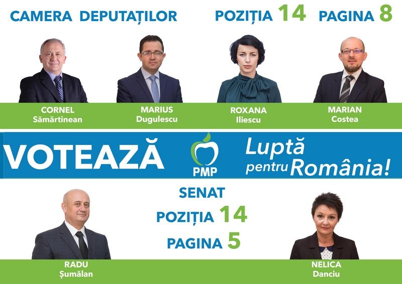 Lugoj Expres De ce va obține PMP Timiș la alegerile din 11 decembrie, un scor foarte bun? (P) Roxana Iliescu Radu Șumălan PMP Timiș Marius Dugulescu Cornel Sămărtinean