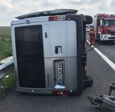 Lugoj Expres Accident pe autostrada A1. A fost activat Planul Roșu de intervenție Planul Roșu oprirea traficului intervenție autostrada A1 accident