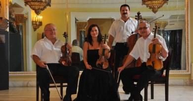 Lugoj Expres O seară vieneză, cu Incanto Quartetto teatrul din Lugoj spectacol seară vieneză Incanto Quartetto