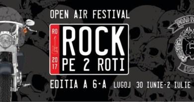 """Lugoj Expres """"Rock pe 2 Roți"""", în acest weekend, la Lugoj tombolă Rock pe 2 Roți Road Patrol MC Lugoj premiu paradă moto motocicliști festival"""