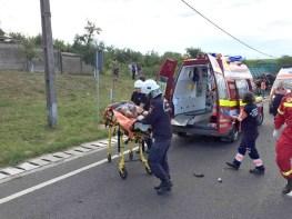 Lugoj Expres Accident grav, cu trei victime, pe DN 6 Lugoj -Timișoara (FOTO) ISU Timiș DN 6 accident Recaș accident grav accident cu victime