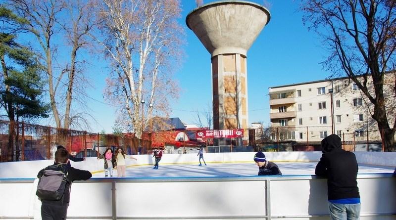 Lugoj Expres Deschiderea patinoarului a fost... amânată! temperaturi patinoar patinaj Parcul George Enescu Lugoj deschidere amânare