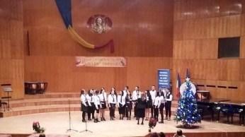 """Lugoj Expres Premiul I pentru corul """"Taina"""" al Colegiului """"Iulia Hasdeu"""" Taina premiu cor concurs colinde Colegiul Național """"Iulia Hasdeu"""" Lugoj"""