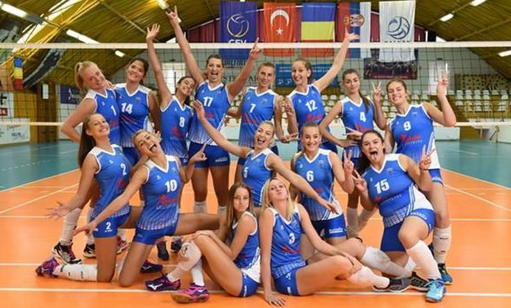 Lugoj Expres CSM Lugoj s-a calificat în play-off-ul primei ligi feminine de volei volei victorie play-off Divizia A1 CSM Lugoj calificare