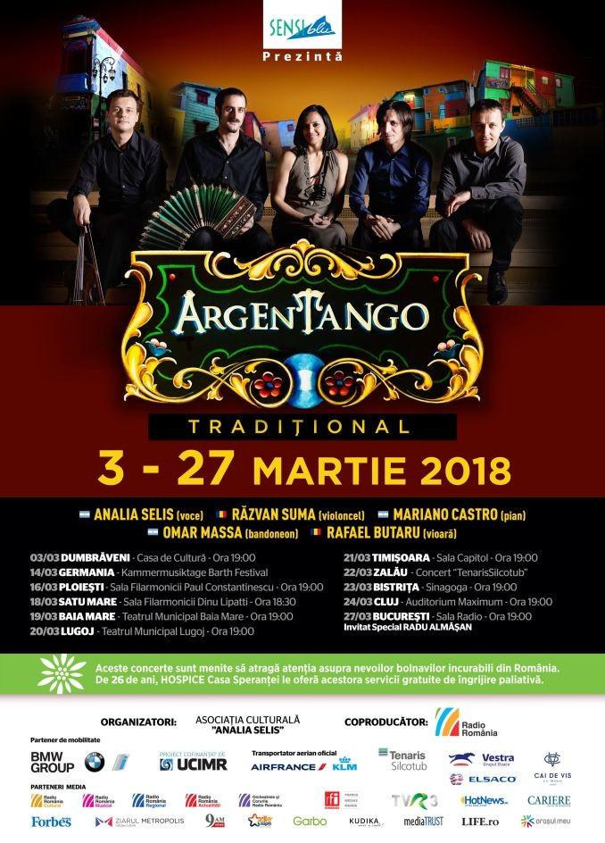 Lugoj Expres ArgEnTango aduce tangoul tradiţional argentinian la Lugoj turneu tangoul argentinian spectacol Lugoj concert ArgEnTango Analia Selis