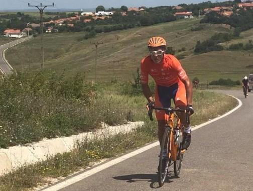"""Lugoj Expres Cupa """"Max Ausnit"""" la ciclism și-a desemnat câștigătorii ediției a VII-a traseu cupa Max Ausnit concurs competiție ciclism câștigători"""